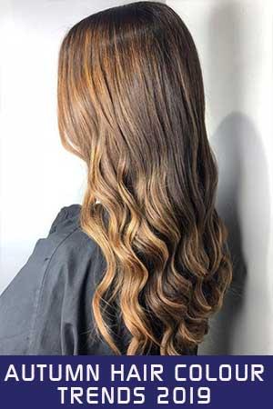 Autumn Hair Colour Trends 2019