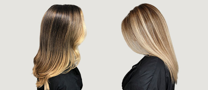 Balayage experts Uxbridge hair salon