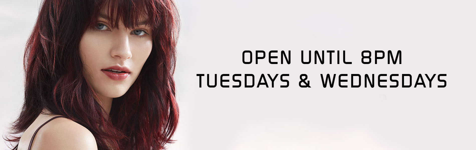 Open until 8pm Tuesdays and Wednesdays best hair salon in Uxbridge - Kevin Joseph Hairdressing
