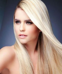 hair extensions dropdown menu