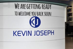 Kevin Joseph Uxbridge Hairdressers Re Opening Soon