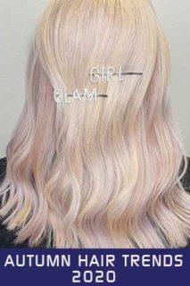 Autumn Hair Trends 2020