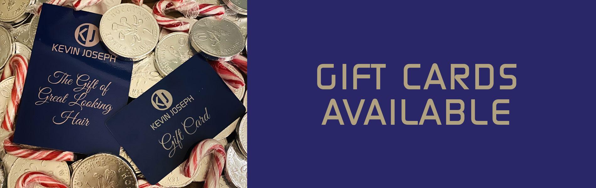 Gift Vouchers Kevin Joseph Uxbridge Hairdressing Salon